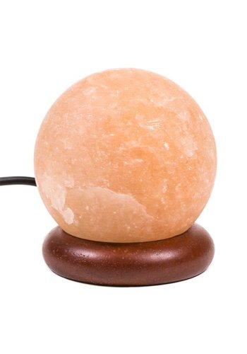 Yogi & Yogini naturals Himalayan Mini zoutlampje bol oranje USB (±9 cm)