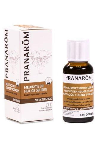 Pranarôm Meditatie en heilige geuren verstuivingsmengsel essentiële oliën (30 ml)