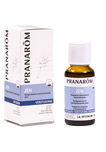 Pranarôm Zen verstuivingsmengsel essentiële oliën (30 ml)
