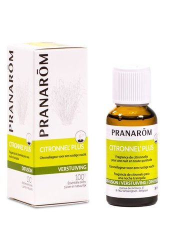 Pranarôm Citronnel'plus verstuivingsmengsel essentiële oliën (30 ml)