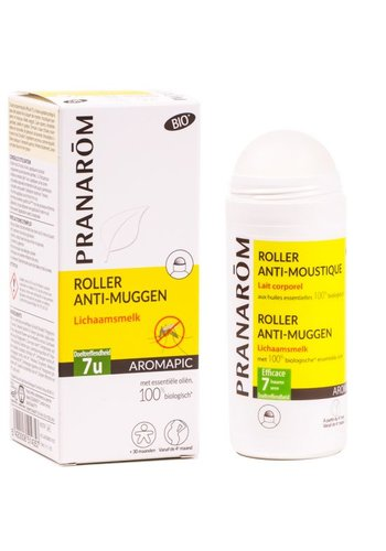 Pranarôm Roller anti-muggen lichaamsmelk BIO (75 ml)