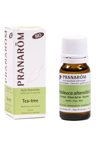 Pranarôm Etherische olie Tea-tree blad BIO (10 ml)