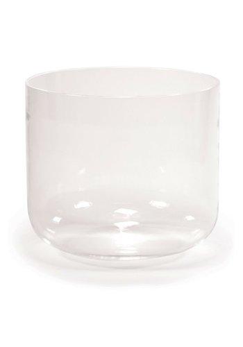 Yogi & Yogini naturals Kristallen klankschaal helder C#-toon (20 cm)