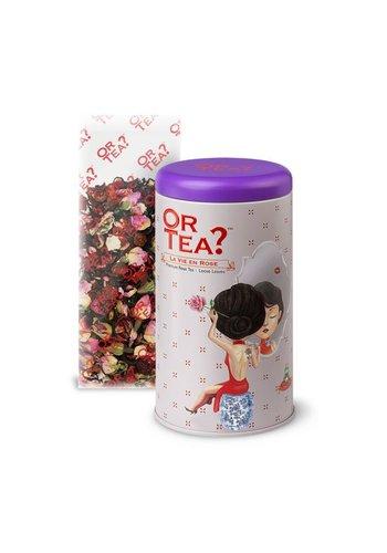 Or Tea La Vie en Rose zwarte thee roos los (75 gram)