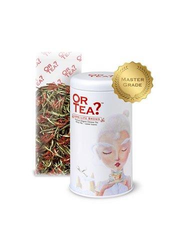 Or Tea Long Life Brows witte thee los BIO (50 gram)