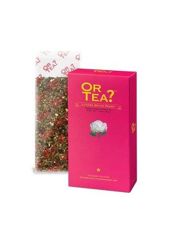 Or Tea Lychee White Peony navulpak BIO (50 gram)