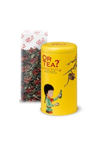 Or Tea Monkey Pinch Peach Oolong thee los (100 gram)