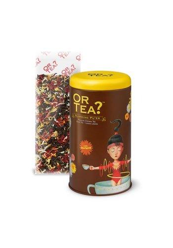 Or Tea Slimming Pu'er zwarte thee goudsbloem los (75 gram)