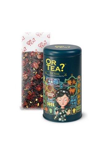 Or Tea Yin Yang koffiesmaak losse zwarte thee (100 gram)