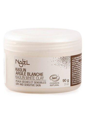 Najel Aleppo Witte kleipoeder voor gezichtsmasker (90 gram)