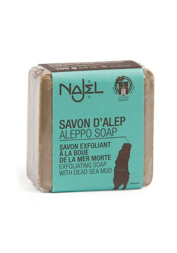 Najel Aleppo Aleppo Dode Zee klei zeep (100 gram)