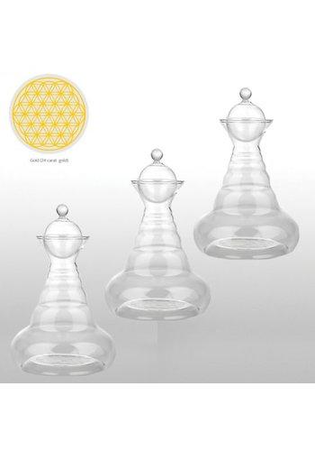Nature's Design Vitaalkaraf Bloem des Levens goud voor massageolie (100 ml)