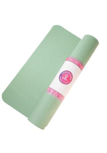 Yogi & Yogini naturals Yogamat mintgroen rubber (185x60x0.4 cm)