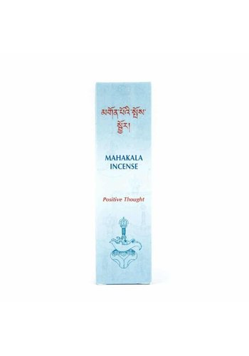 Himalayan Mountain Wierook Tibetaans Mahakala Positive Thought