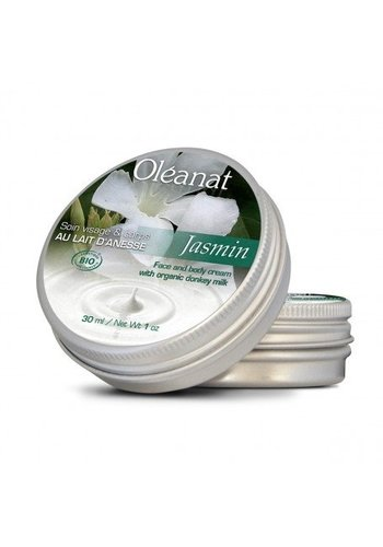 Oléanat Moisturising butter ezelinnenmelk en jasmijn BIO (100 ml)