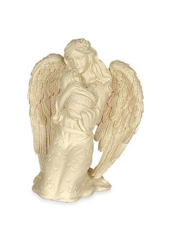 Angel Star Engelbeeldje met baby (11.4 cm)