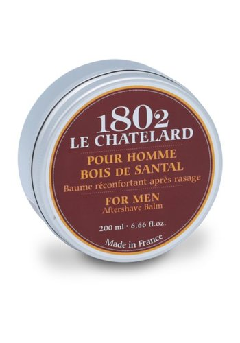 Le Chatelard 1802 Men's Collection: Sandelhout Aftershave balsem (200 ml)
