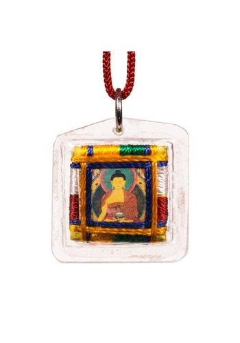 Yogi & Yogini naturals Beschermhanger Shakyamuni Boeddha (3 cm)