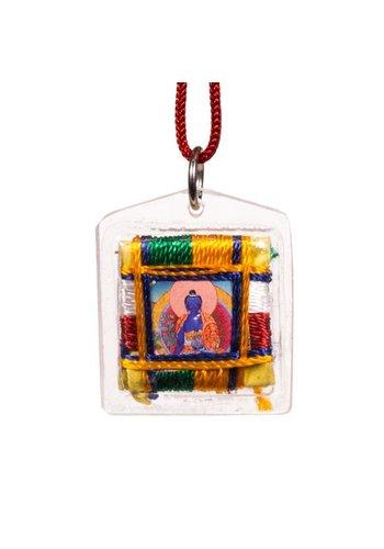 Yogi & Yogini naturals Beschermhanger Medicijn Boeddha (3 cm)