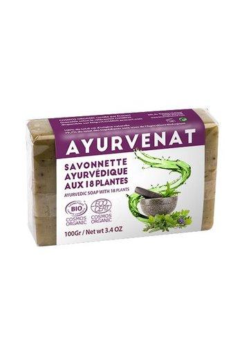 Holy Lama Naturals Ayurvedische 18 kruiden zeep BIO (100 gram)