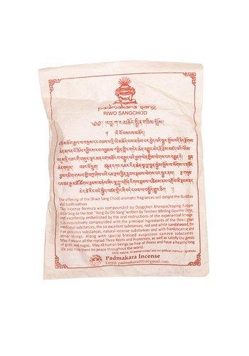 Yogi & Yogini naturals Tibetaanse wierookpoeder Riwo sangchod (± 100-120 gram)