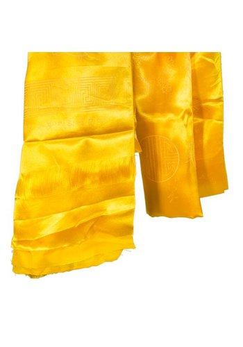 Yogi & Yogini naturals Tibetaanse katha geel met 8 voorspoedbrengende tekens (180 cm)