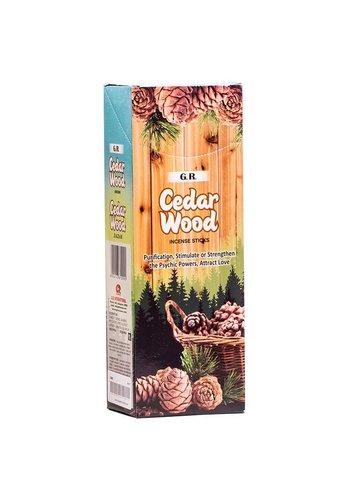 Yogi & Yogini naturals Wierook Ceder hexagram (20 gram)