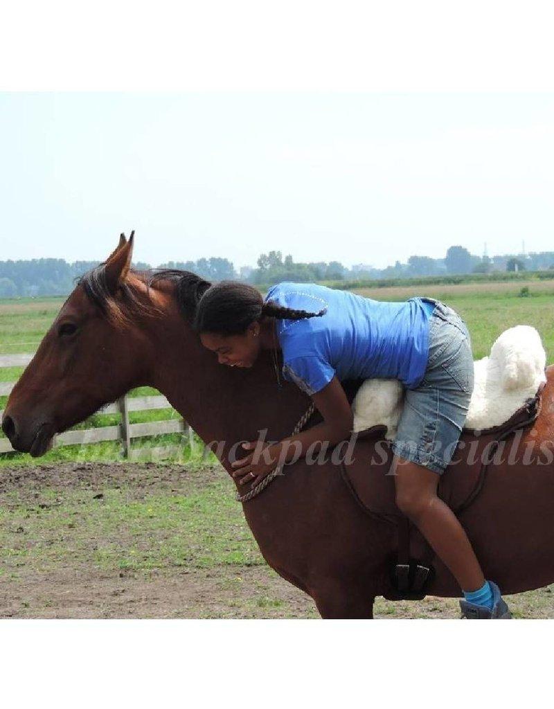 Barefoot Barefoot Ride on Pad schaapwol zitting barebackpad
