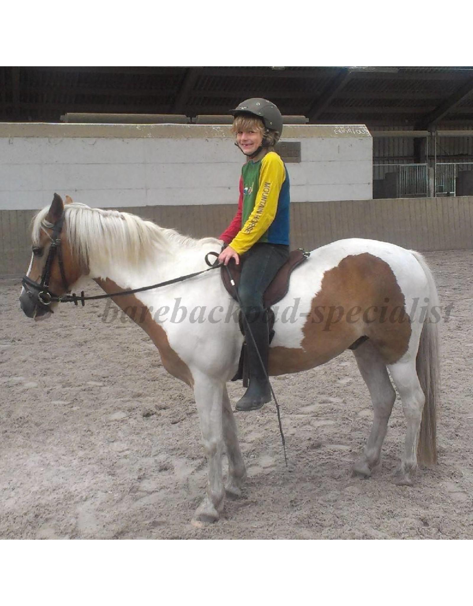 Barefoot Ride on Pad shetty-pony barebackpad