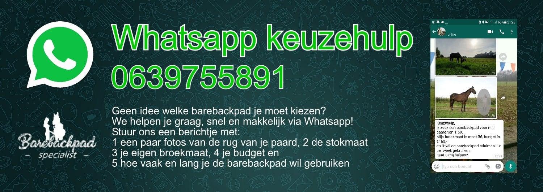 Whatsapp keuzehulp