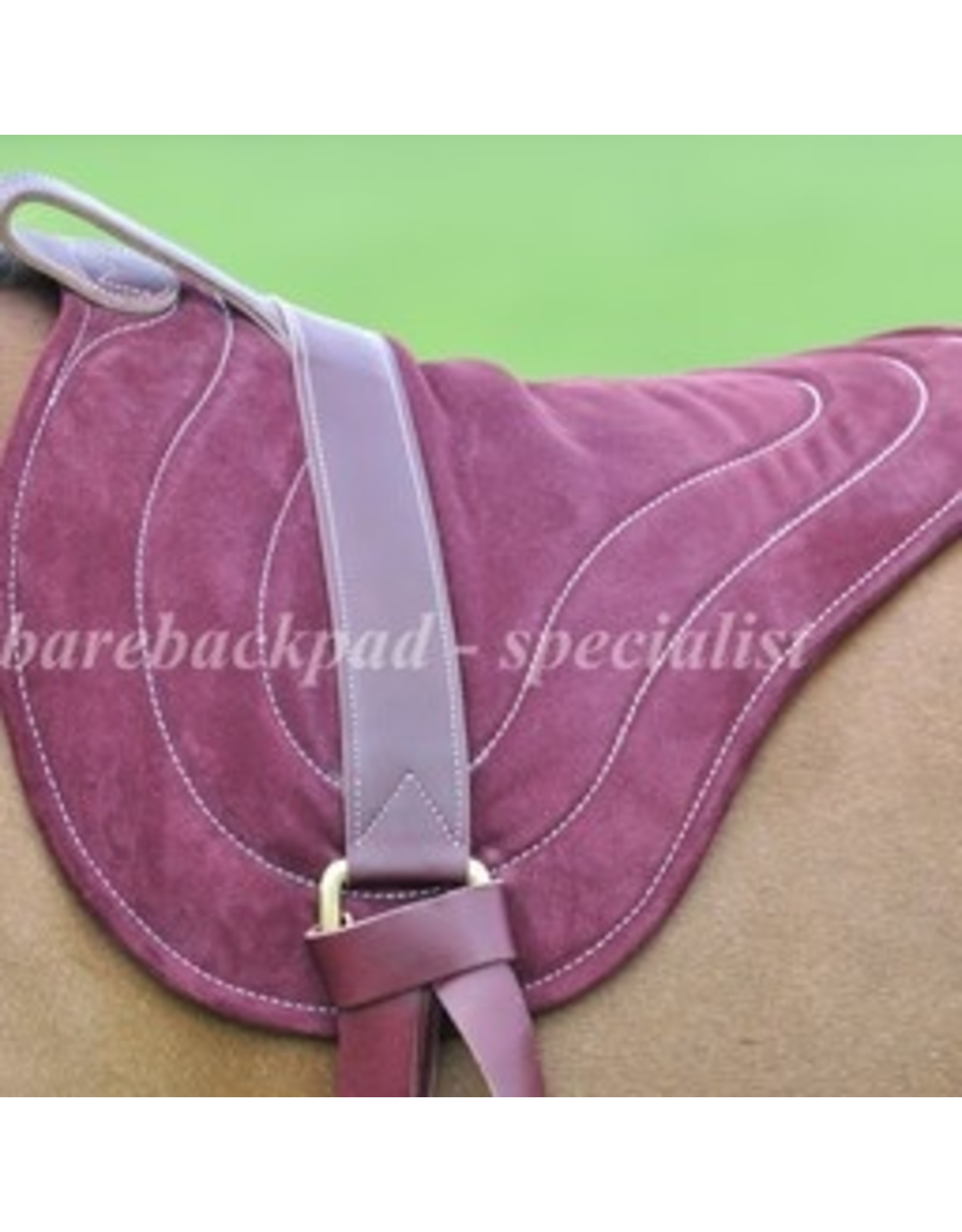 Seilerei Brockamp Horsemanship suède barebackpad