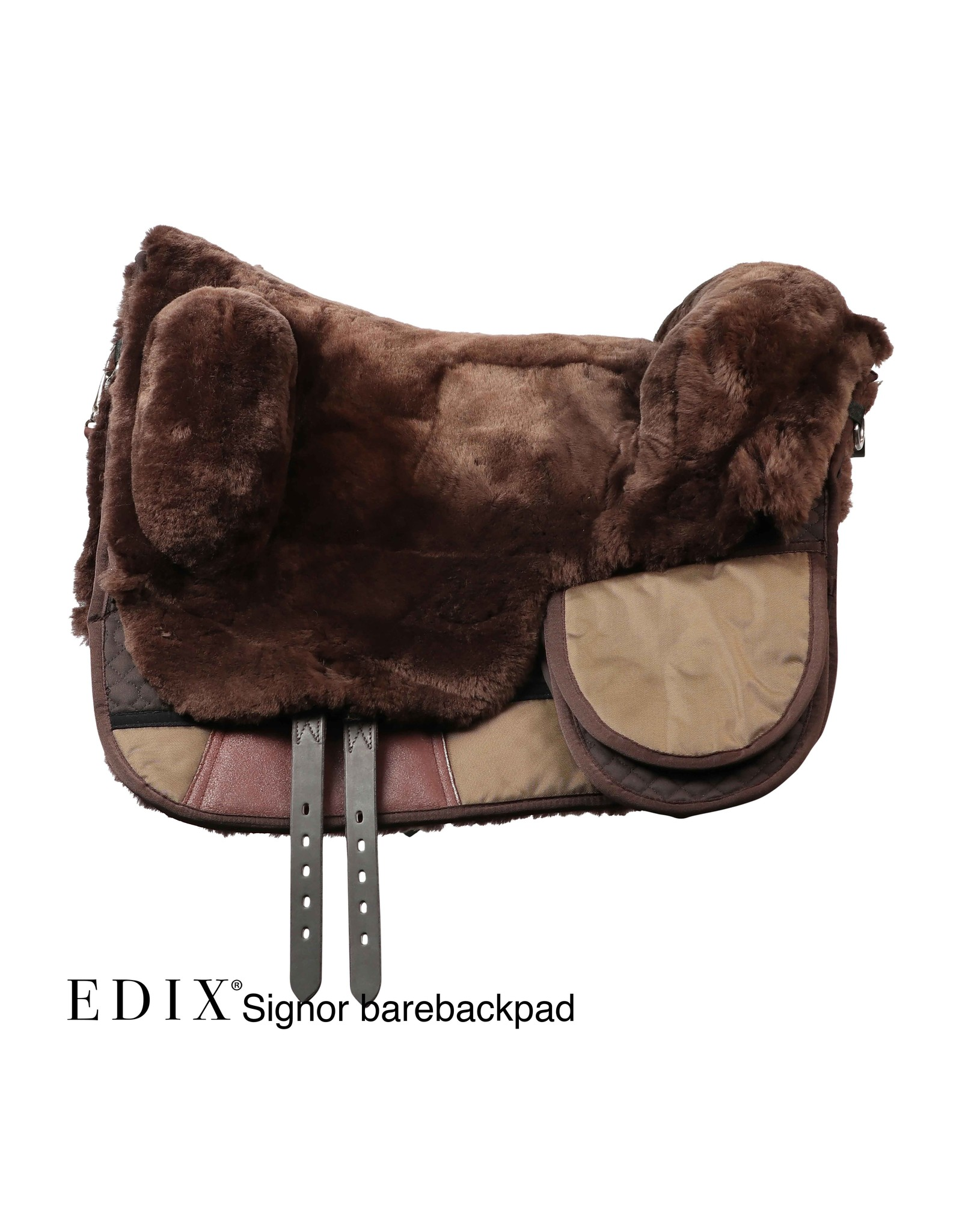 EDIX barebackpad Signor anatomisch