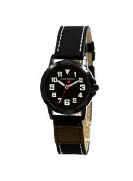 Coolwatch by Prisma Coolwatch Stalen kinderhorloge Canvas Jort Black