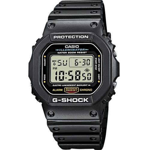 Horloge G-Shock TIMECATCHER DW-5600E-1VER
