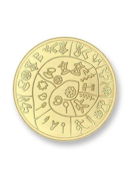 Mi Moneda Munt Phatos & Numbers Gold Large
