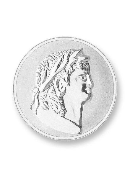 Mi Moneda Munt Roman & Scarabee Silver Large