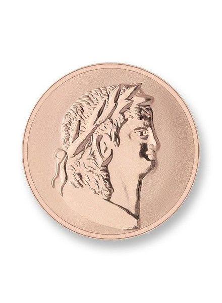 Mi Moneda Munt Roman & Scarabee Rose Medium