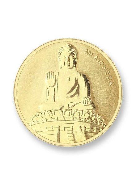 Mi Moneda Munt Buddha Gold