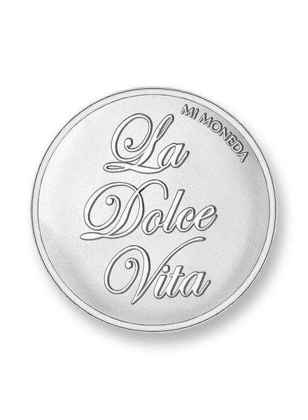 Mi Moneda Munt La Dolce Vita Silver