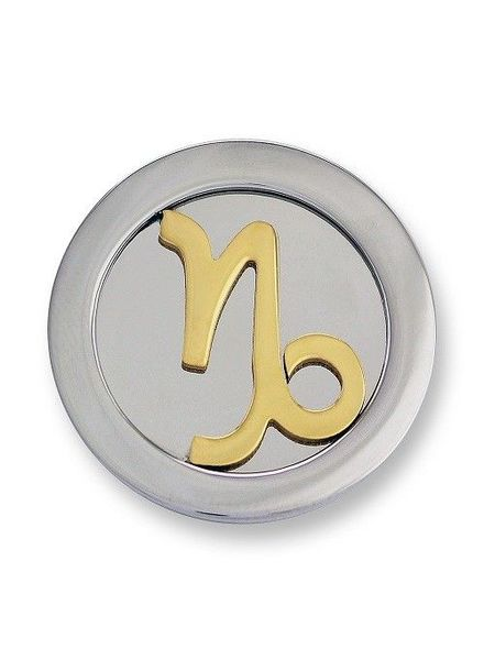 Mi Moneda Munt Zodiac Steenbok Gold