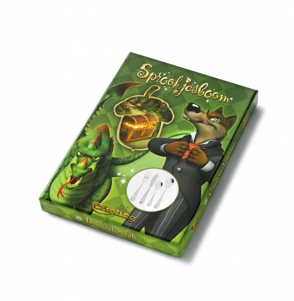 Zilverstad Kinderbestek Sprookjesboom Jongen