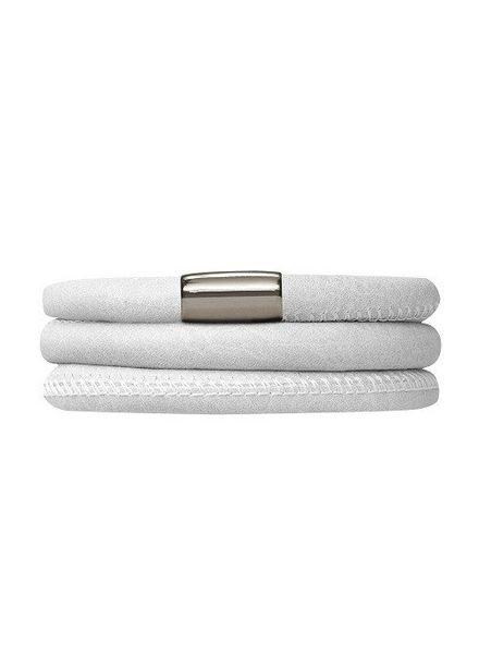 Armband White Triple