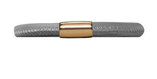 Armband Grey Single Gold Plated