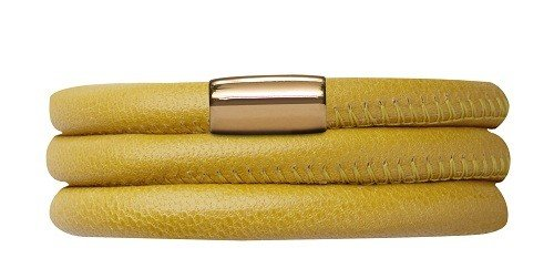 Armband Yellow Triple Gold Plated