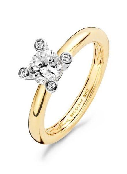 Blush Geelgouden ring 1122BZI
