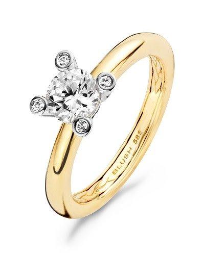 Blush Blush geelgouden ring 1122BZI