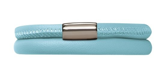 Endless Armband 12111 Light Blue Double