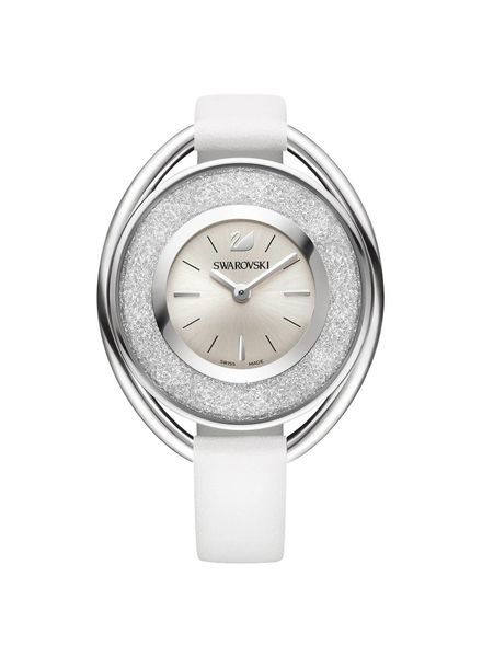 Swarovski Horloge Crystalline Ovaal Wit