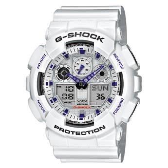 Horloge G-Shock GA-100A-7AER