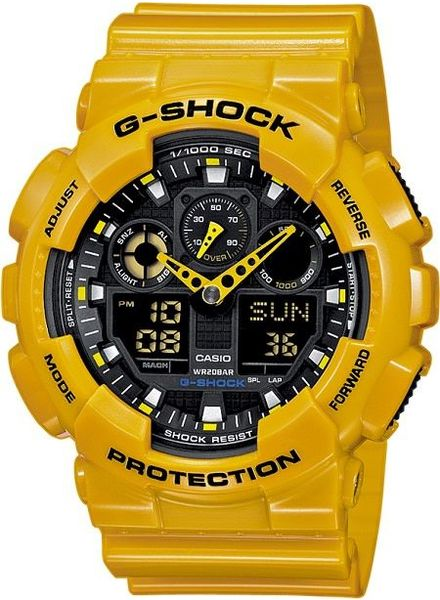 Horloge G Shock GA-100A-9AER